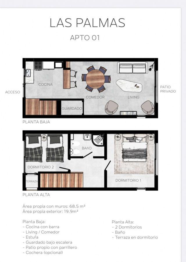 Apartamento ID.263 - preventa Duplex en San Carlos, entrega octubre 2020