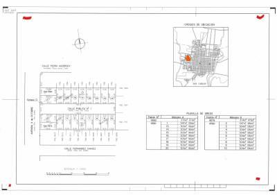 Terrenos altos con todos los servicios 300 m2, en un entorno agradable, Barrio Martín Vidal, entrega en Marzo 2021