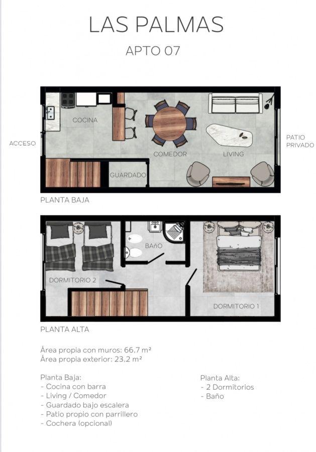 Apartamento ID.304 - Preventa Duplex en San Carlos, entrega octubre 2020