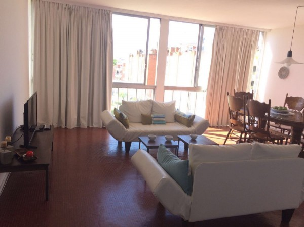 alquiler temporada apartamento 2 dormitorios zona mansa - lmt154a