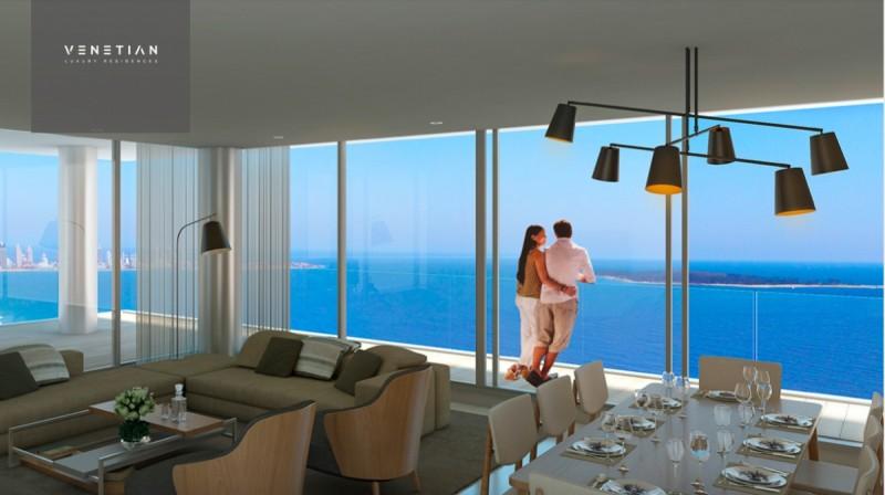 Apartamento ID.2057 - VENETIAN, 1ERA LINEA AL MAR. NUEVO LANZAMIENTO