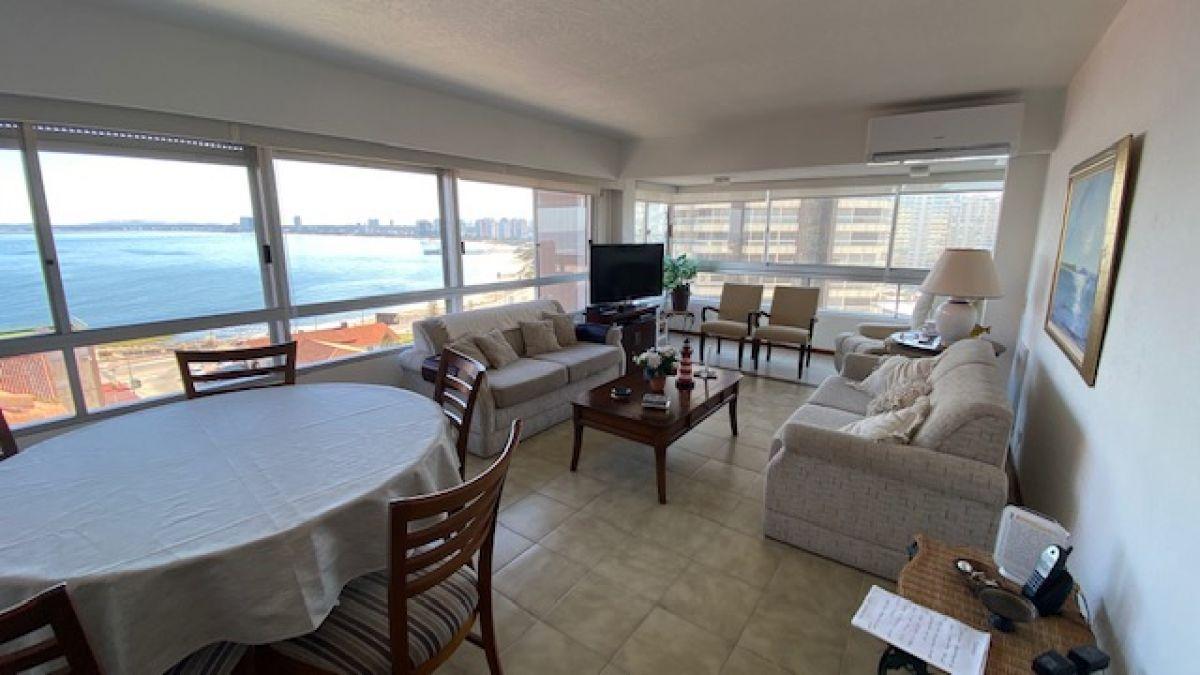 Apartamento con excelente vista a playa mansa y brava - Consulte !!!!!!