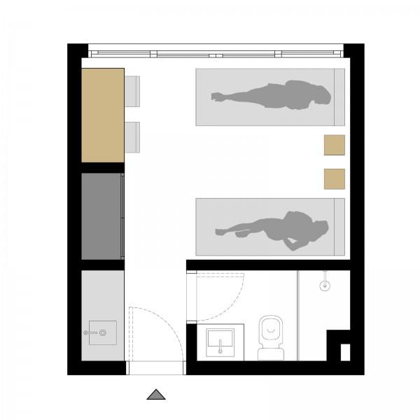 Apartamento ID.2731 - Monoambiente en Gorlero