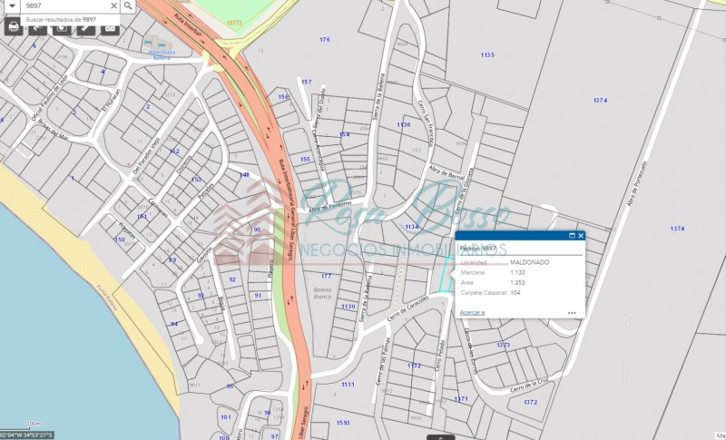 Terreno ID.5850 - Terreno en Punta Ballena