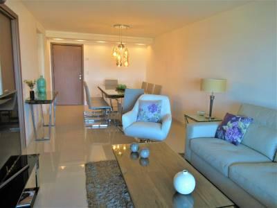 3 dormitorios más dependencia de servicio en Look Brava a 80 metros de Playa Brava