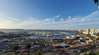 Espectacular vista al Puerto.