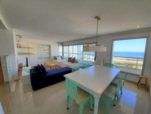 exclente departamento en playa brava. vista al mar !! - sea117a