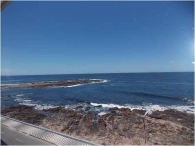 Frente al mar con excelente vista y parrillero
