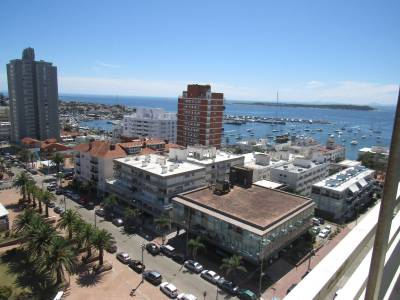 Buena vista al mar y al Puerto