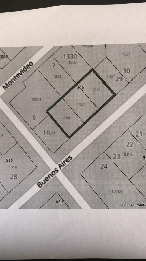 Terreno ID.5045 - Mansa 1419 m2 a metros de la rambla