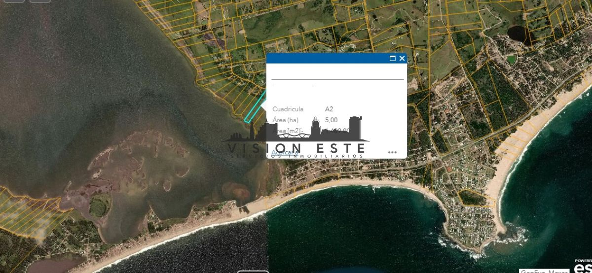 Chacra ID.377 - Chacra 5 has en Jose Ignacio con costa a Laguna