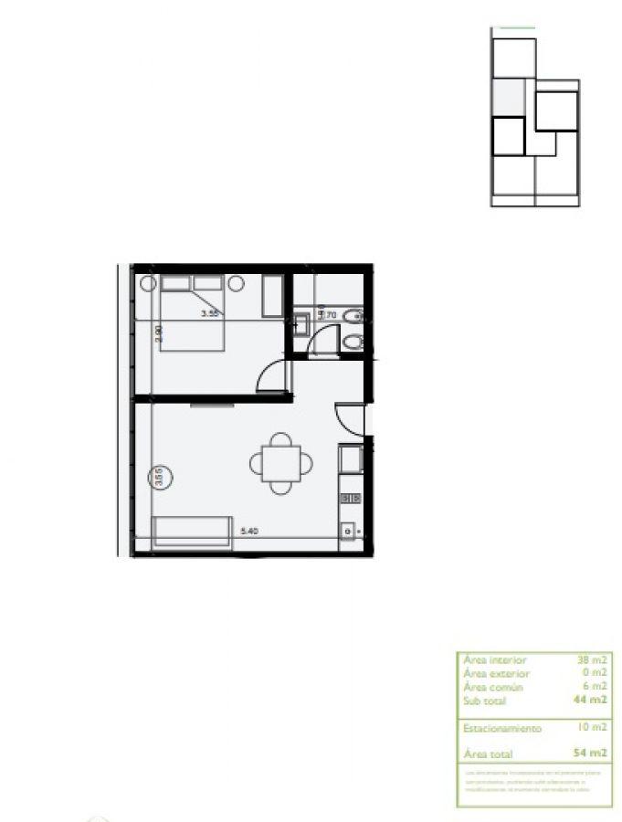 Apartamento en pozo Av. Roosevelt , Punta del Este
