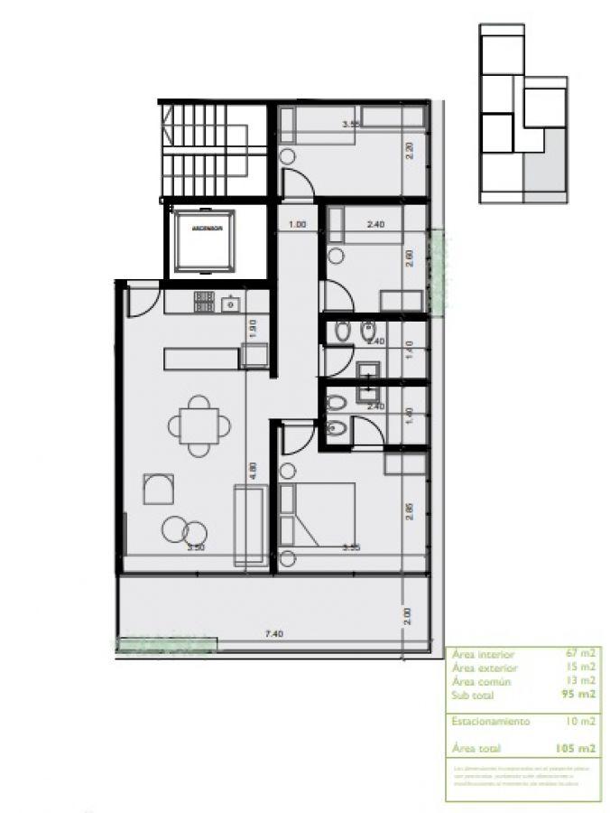 Apartamento ID.4824 - Apartamento en venta Av. Roosevelt 3 dormitorios