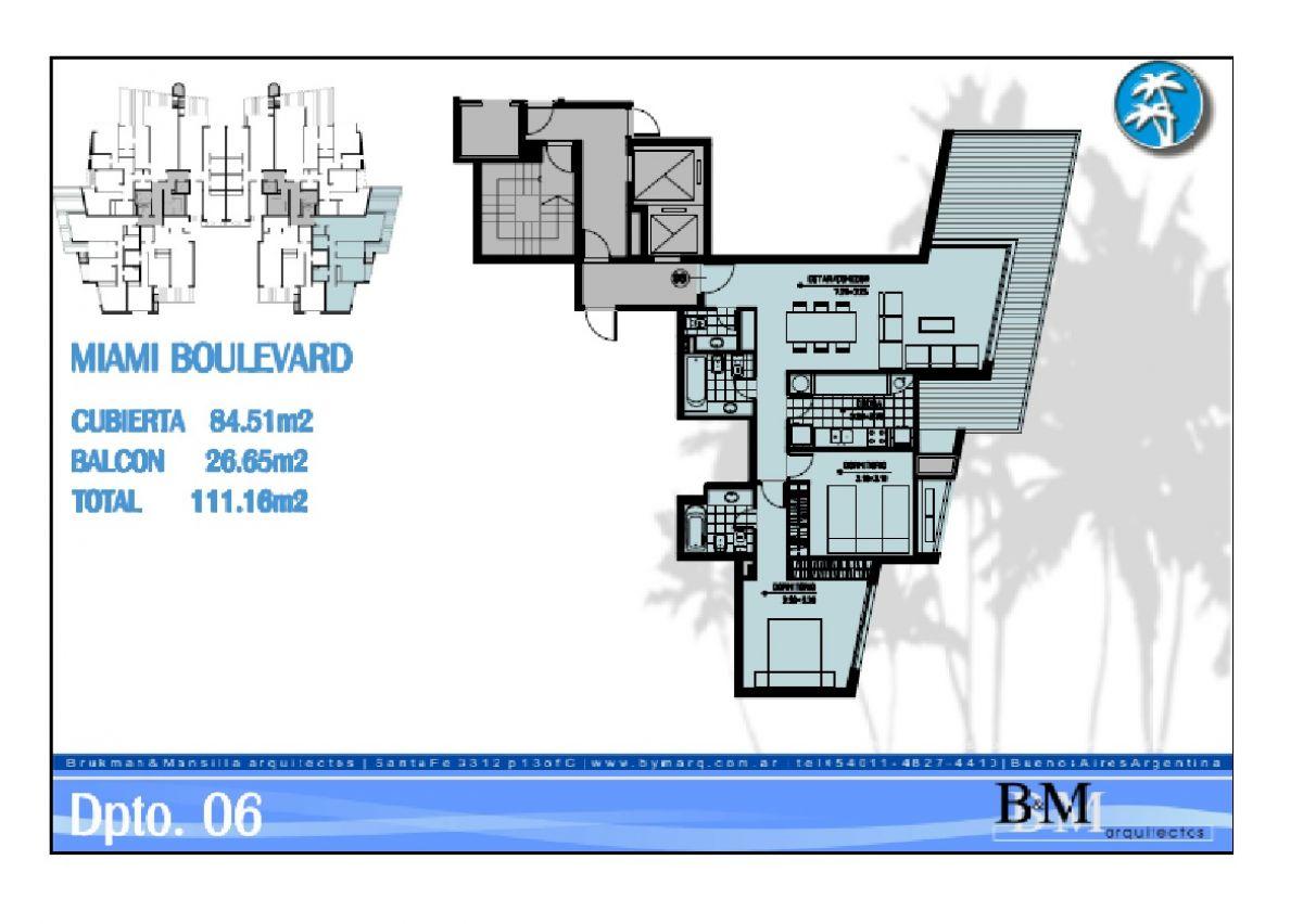 Apartamento ID.23630 - Miami Boulevard II