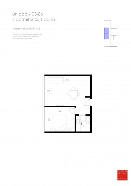 Apartamento ID.23671 - Apartamento en venta Roosevelt 1 dormitorio