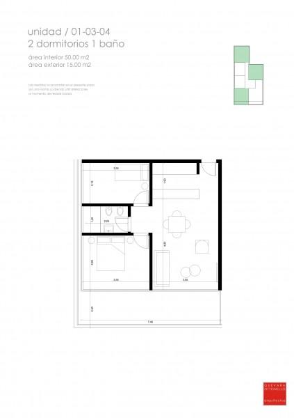 Apartamento ID.23288 - Venta de apartamento de 2 dormitorios en Punta del Este