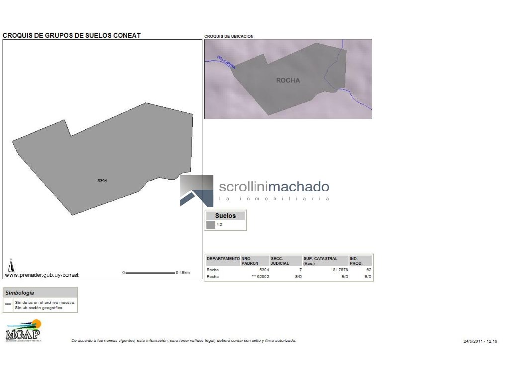 Chacra ID.83 - Chacra en venta Garzon