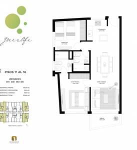 Venta Apartamento 2 Dormitorios, Roosevelt, Punta del Este