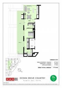 Venta Apartamento-Penthouse, 1 Dormitorio, Roosevelt, Punta del Este