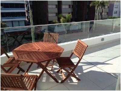 1 dorm. con gran terraza con parrillero - Península - Venta y Alquiler Anual