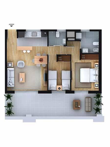 Apartamento ID.50 - Departamento - Aguada