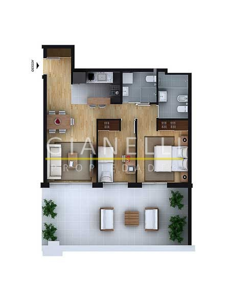 Apartamento ID.56 - Departamento - Aguada