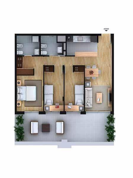 Apartamento ID.58 - Departamento - Aguada