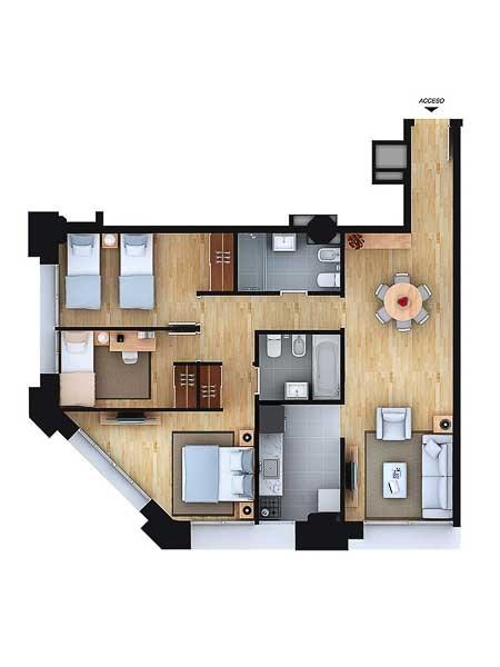 Apartamento ID.51 - Departamento - Aguada