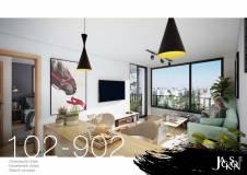 Apartamento a la venta de 1 dormitorio en construcción!