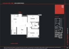 Apartamento a la venta de 2 dormitorios en Cordón