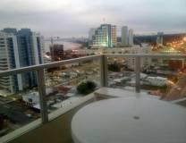 Comodo departamento en piso alto Mansa proximo a Peninsula