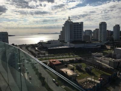 Apartamento en Venta y Alquiler en Punta del Este, Torre con todos los servicios, Piso alto, espectacular vista!