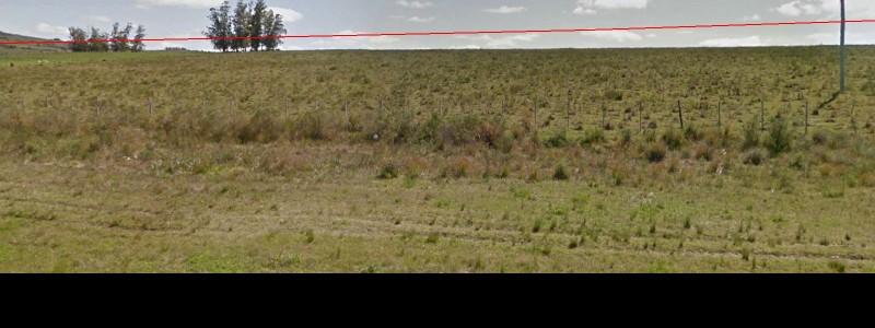 Chacra 20 Has sobre Ruta 12, antes de Pueblo Edén, arroyo, vistas