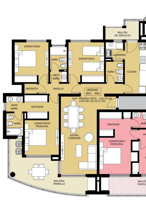 Apartamento a estrenar 3 dormitorios